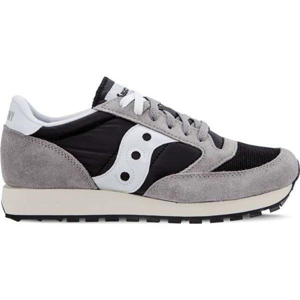release date e8a29 4e5ee Men's Shoes Sneakers Saucony JAZZ ORIGINAL VINTAGE GREY BLACK WHITE