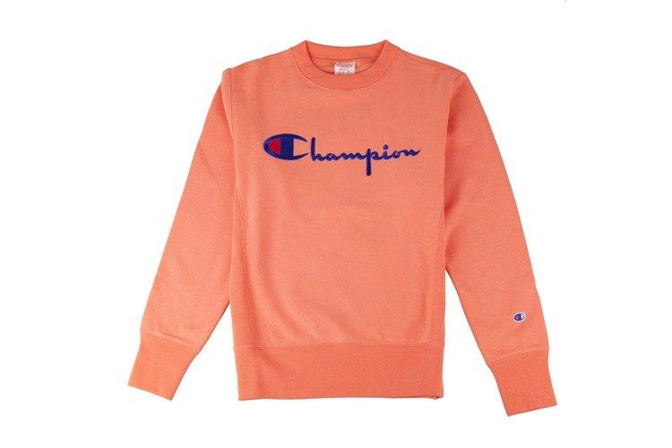 Bluza Champion męska Crewneck Sweatshirt Orange 212576/RS034