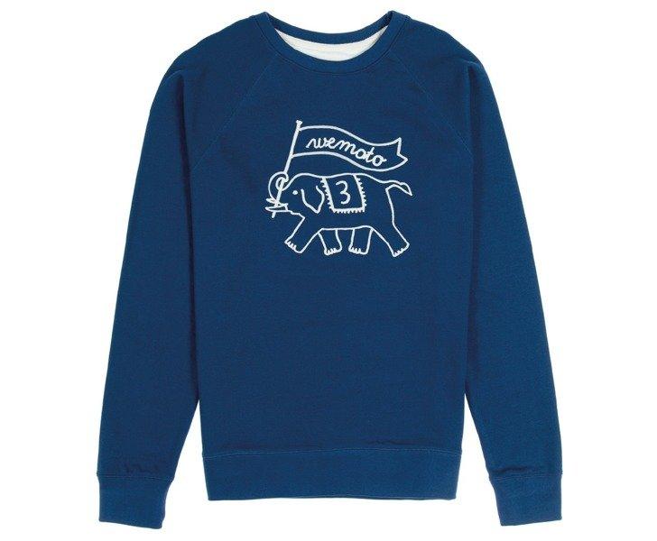 Wemoto - Toby Embro Blue - Bluza Męska