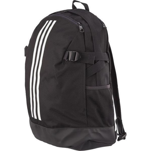 6c26d1f804 Backpack Adidas 3 STRIPES POWER MEDIUM IV M 864 BLACK WHITE WHITE ...