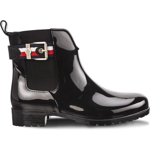 c993d46ad9 Rain Boots Tommy Hilfiger CORPORATE BELT RAIN 990 BLACK