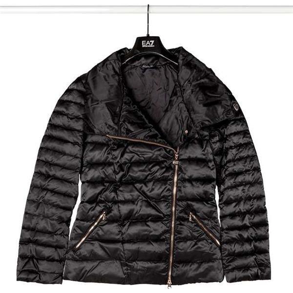 EA7 Emporio Armani WOMAN TESSUTO BOMBER JACKET 1200 BLACK   KLEIDUNG    FRAUEN   Jacken MARKEN   EA7 Emporio Armani ffab45495e