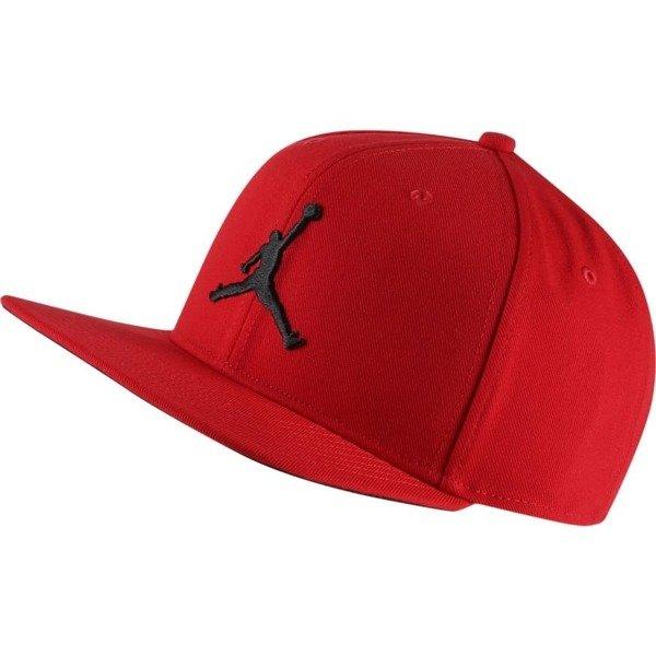 86d46cd075963 Air Jordan Pro Jumpman Snapback Cap - AR2118-687 Red