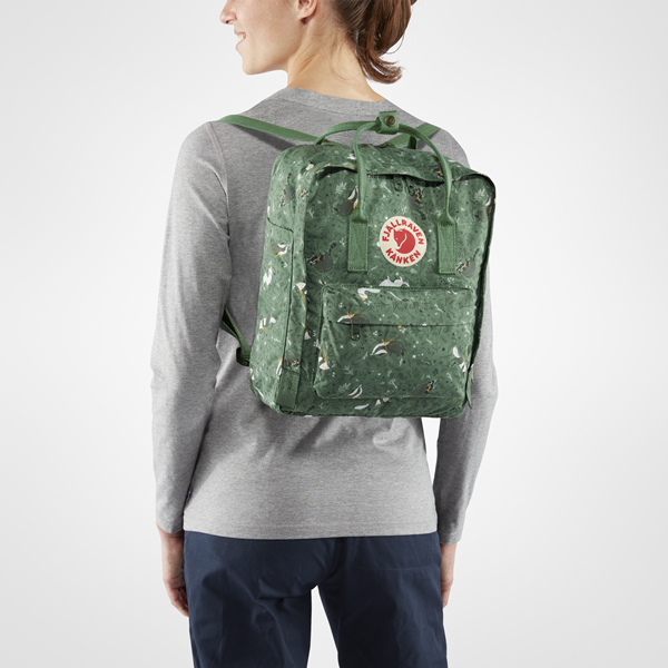 ae3282bd7fb ... Backpack Kanken Art Fjallraven Green Fable 976 Click to zoom ...