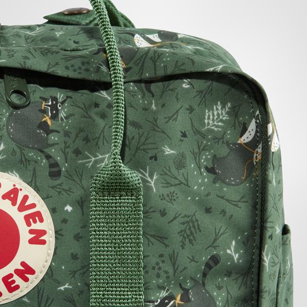 najlepszy klasyczne dopasowanie buty na tanie Backpack Kanken Art Fjallraven Green Fable 976