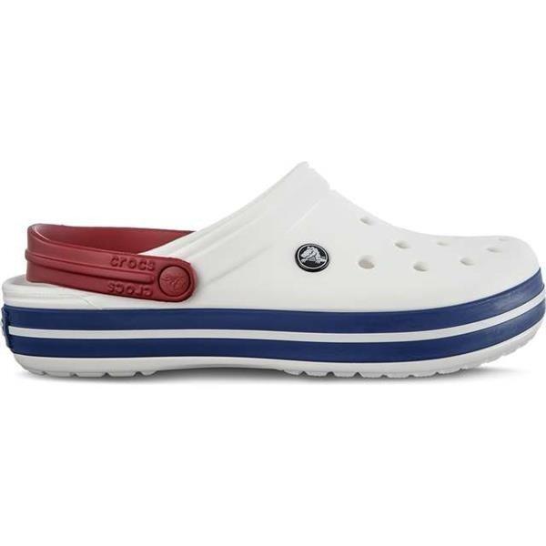 Crocs CROCBAND WHITE BLUE JEAN Unisex Multicolor  9f930989a6f