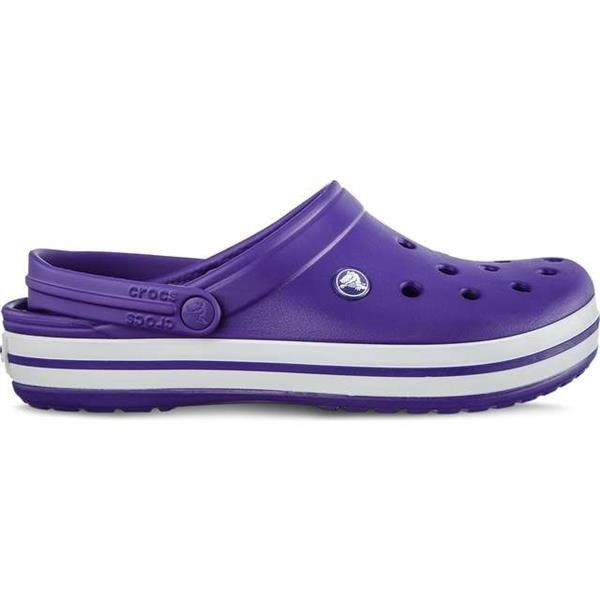 c9a1fae23 Crocs Crocband Ultraviolet White Unisex purple - pink