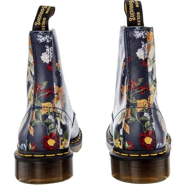101a3d535e807 ... Dr Martens DARCY FLORAL 1460 PASCAL DM'S NAVY DARCY FLORAL BACKHAND  STRAW GRAIN Click to zoom