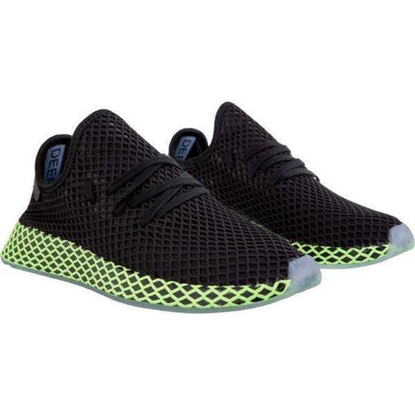topowe marki autentyczna jakość sprzedaż online Men's Shoes Sneakers Adidas DEERUPT RUNNER CORE BLACK CORE BLACK ASH BLUE