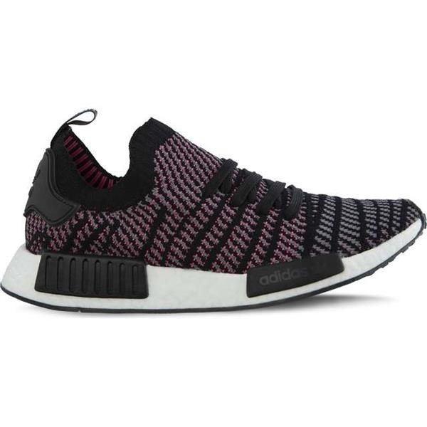 e19f1f98870b23 ... click to zoom mens shoes sneakers adidas nmd r1 stlt primeknit core black  grey four solar