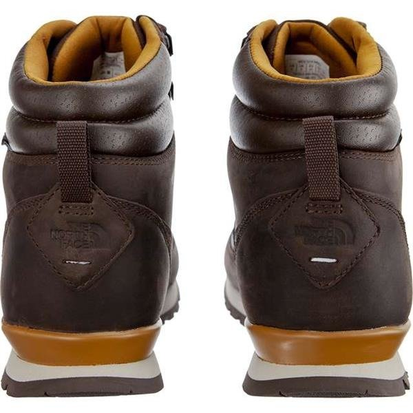 4572215ea73 Men's Winter Boots The North Face MEN'S BACK TO BERKELEY REDUX LEATHER 090  CHOCOLATE BROWN GOLDEN BROWN