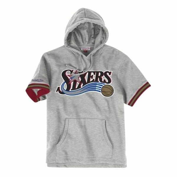finest selection d0c03 cf65b Mitchell & Ness NBA Philadelphia 76ers French Terry Hoodie