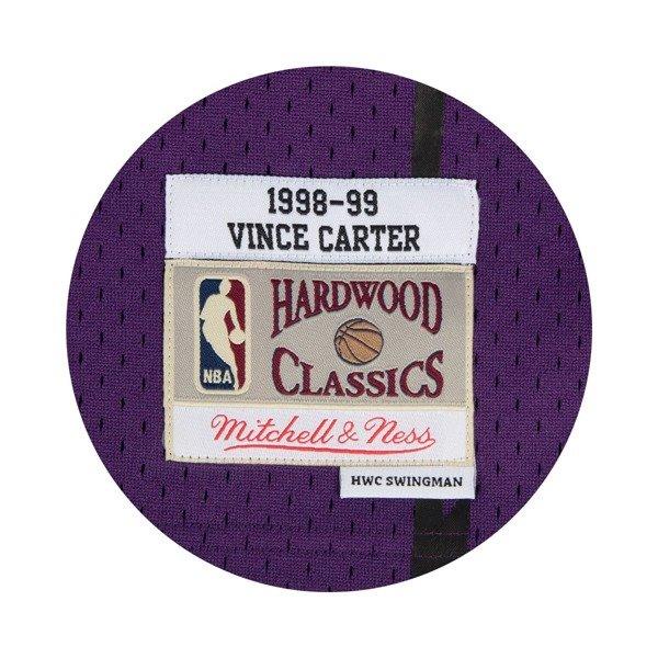 c9e52ae83ad ... Mitchell   Ness Vince Carter 1998-99 NBA Hardwood Classics Swingman  Toronto Raptors Jersey Click to zoom