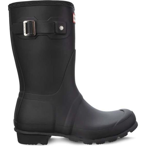 144fd8f9ddb Rain Boots Hunter WOMEN'S ORIGINAL SHORT BLACK