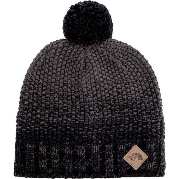 06e464a6c59 The North Face ANTLERS BEANIE TNF BLACK GRAPHITE GREY