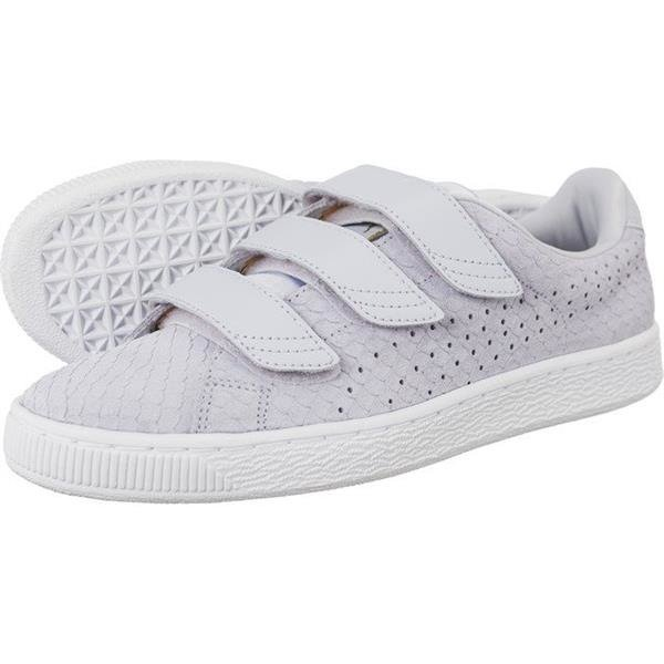check out c7ed6 ee0bc Women's Shoes Sneakers Puma Basket Strap Exotic Skin W 704