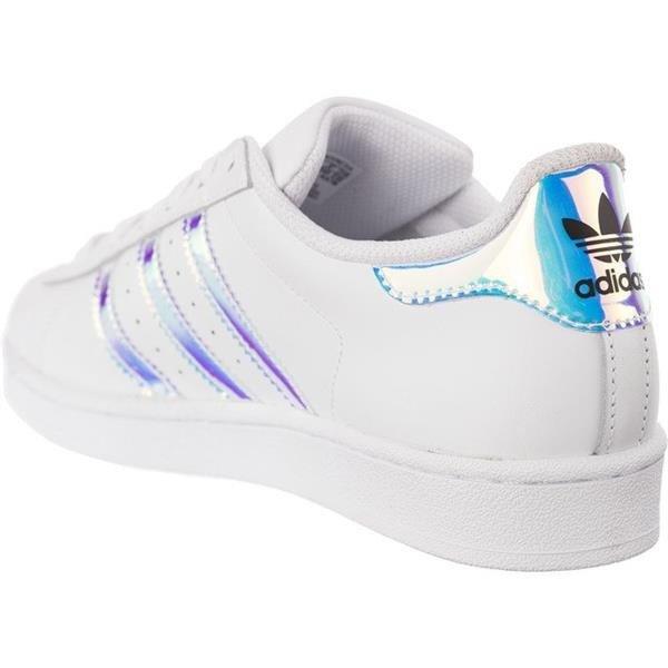 newest 43dfb ba4df Women's Shoes Sneakers adidas SUPERSTAR J 278 HOLOGRAM IRIDESCENT
