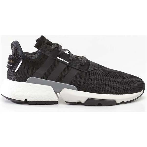adidas POD S3 1 CORE BLACK CORE BLACK REFLECTIVE SILVER Shoes (BD7737)