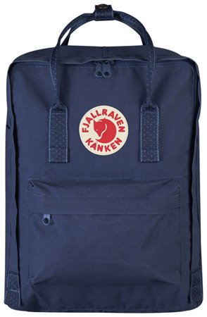 Backpack Fjallraven Kanken / Royal Blue-Pinstripe Pattern