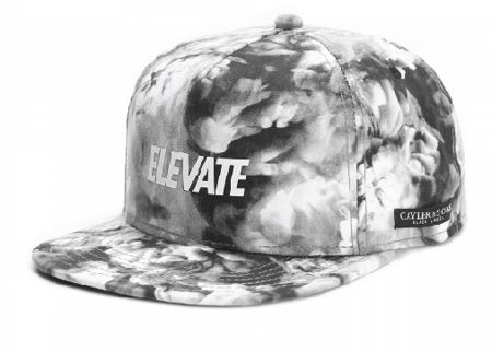 C&S BL Elevante Cap black mc/white - Snapback