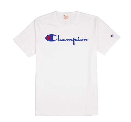 Champion Reverse Weave Crewneck T-Shirt White