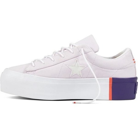 Converse 559902 ONE STAR BARELY GRAPE RUSH CORAL WHITE