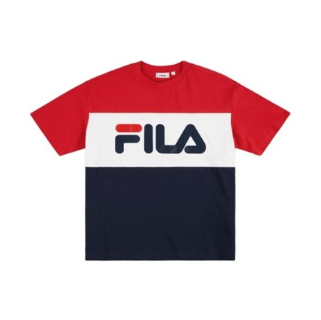 Fila Men Day Tee Black Iris - True Red - Bright White