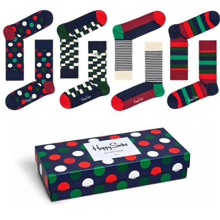 Giftbox 4-pack Happy Socks - XBDO09-4000
