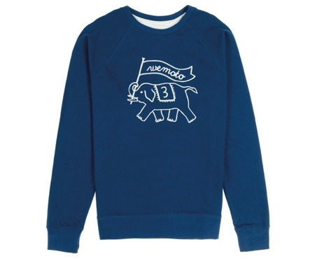 Men's  Sweatshirt Wemoto - Toby Embro Blue