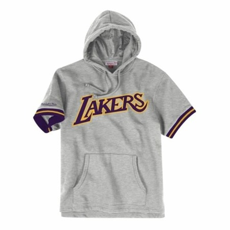 Mitchell & Ness NBA Los Angeles Lakers French Terry Hoodie