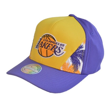 Mitchell & Ness NBA Los Angeles Lakers Snapback - MN-HWC-INTL319-LALAKE-YELPUR-OS