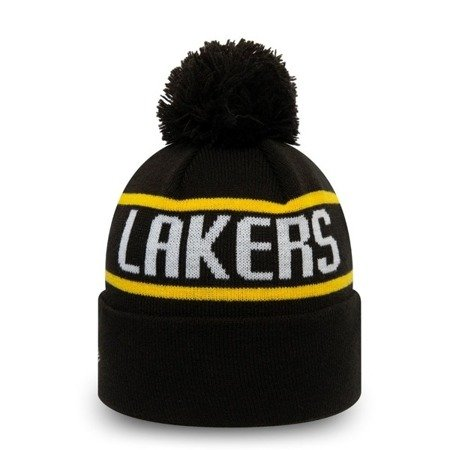 New Era Los Angeles Lakers NBA Kids Essential Bobble Knit - 12145383