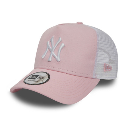 New Era New York Yankees Essential Pink A Frame Trucker - 11871473
