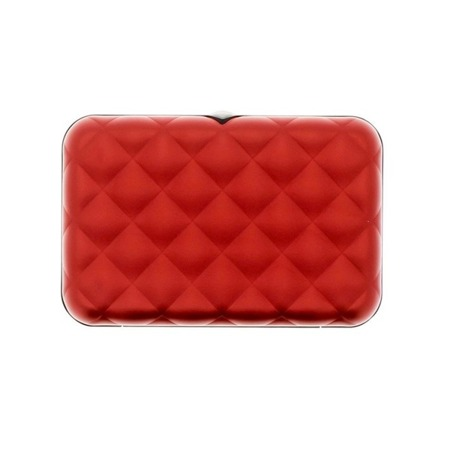 Ogon Designs Wallet Quilted Button Red