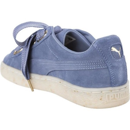 Women's Shoes Sneakers Puma SUEDE HEART CELEBRATE WNS INFINITY BLUE