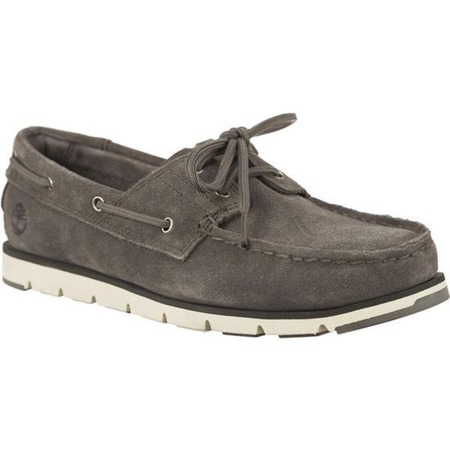Women's Shoes Timberland CAMDEN FALLS SUEDE BOAT SHOES GUNMETAL