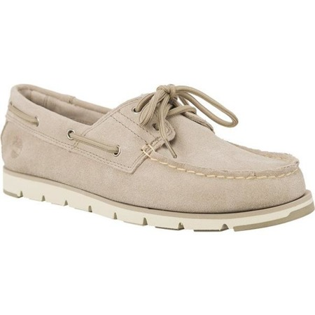 Women's Shoes Timberland CAMDEN FALLS SUEDE BOAT SHOES SIMPLY TAUPE