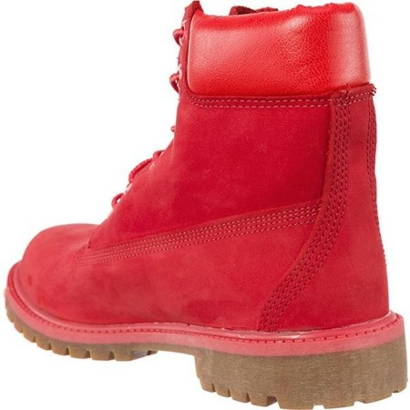 Women's Winter Boots Timberland 6 INCH PREMIUM WATERPROOF BOOT TOMATO