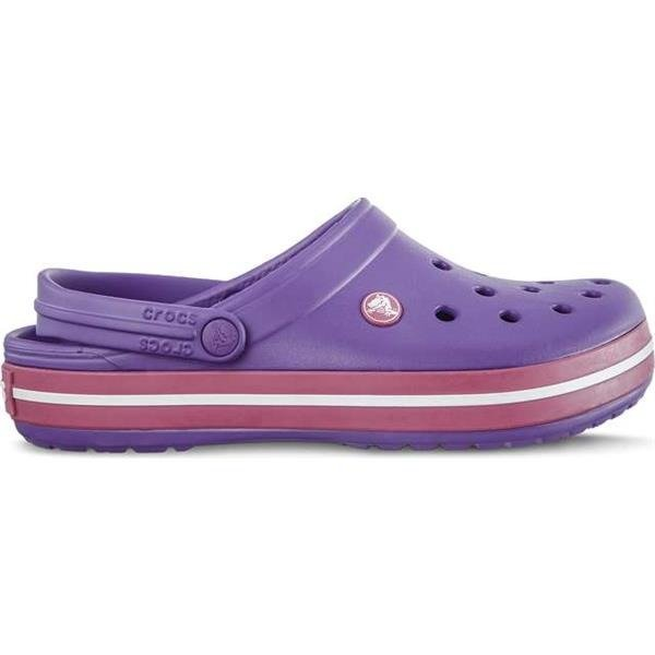 the best attitude b0e39 6b553 Crocs Crocband Neon Purple Candy Pink Unisex