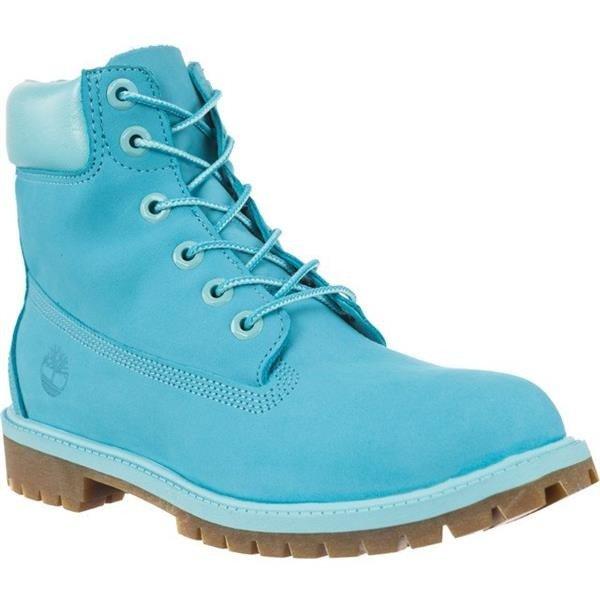 good b6fe1 f3aaf Damen Winterschuhe Timberland 6 INCH PREMIUM WATERPROOF BOOT SCUBA BLUE