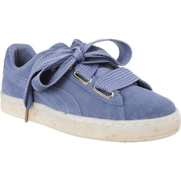 Damenschuhe Sneaker Puma SUEDE HEART CELEBRATE WNS INFINITY BLUE