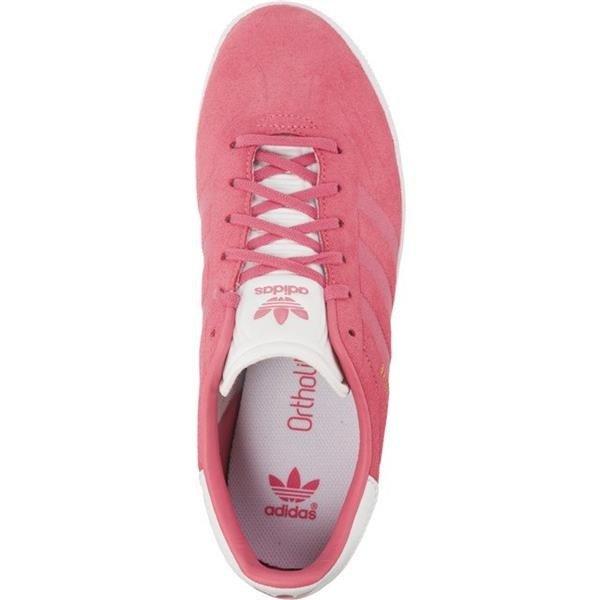 Damenschuhe Sneaker adidas GAZELLE J 882 CHALK PINK CHALK PINK FOOTWEAR WHITE