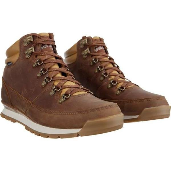 quality design 9a8dc 418a0 Herren Winterschuhe The North Face MEN'S BACK TO BERKELEY REDUX LEATHER 090  DIJON BROWN TAGUMI BROWN