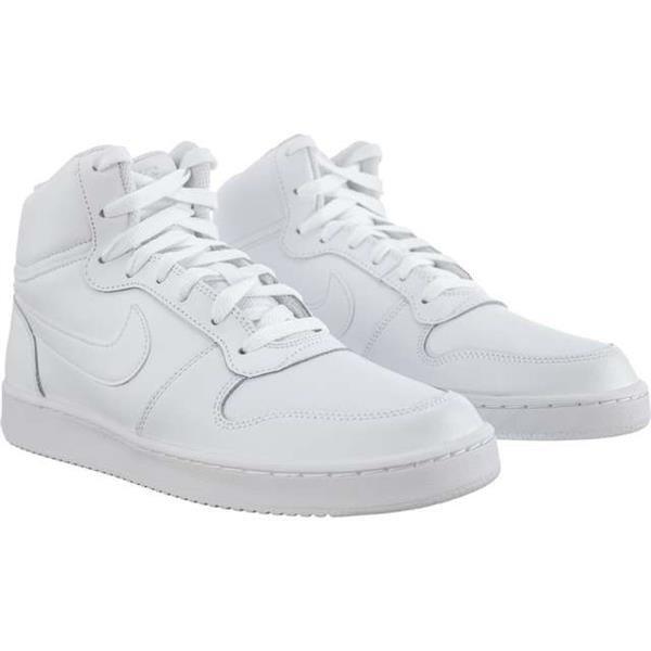 Herrenschuhe Sneaker Nike EBERNON MID 100 WHITE WHITE