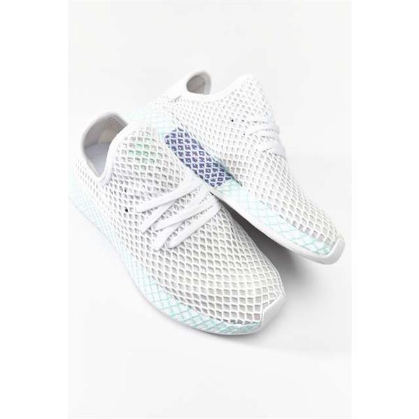 adidas DEERUPT RUNNER W FOOTWEAR WHITE GREY ONE CLEAR MINT Schuhe (CG6089)