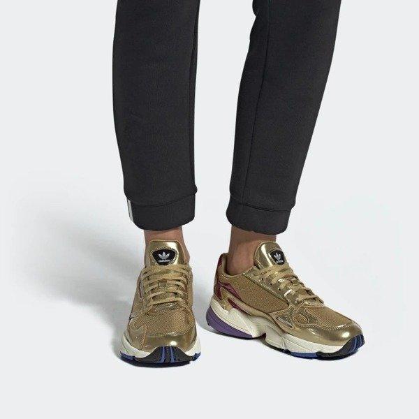 ADIDAS FALCON W gold CG6247 Sneaker Schuhe Frauen