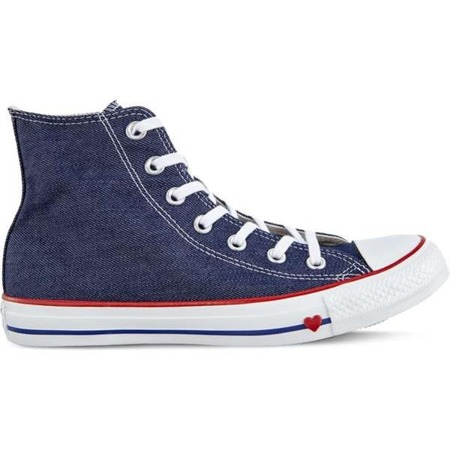 Converse CHUCK TAYLOR ALL STAR SUCKER LOVE INDIGO ENAMEL RED BLUE