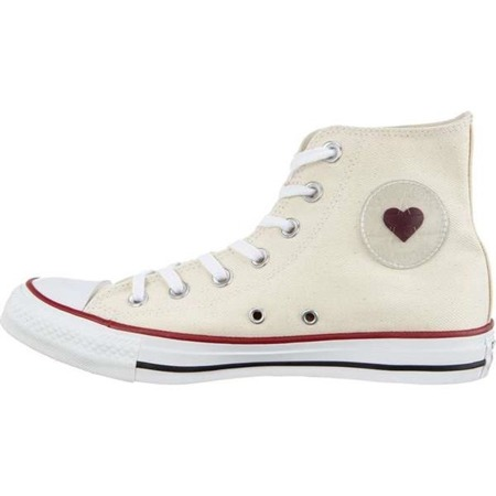 Converse Chuck Taylor All Star Hi SUCKER LOVE NATURAL WHITE GARNET