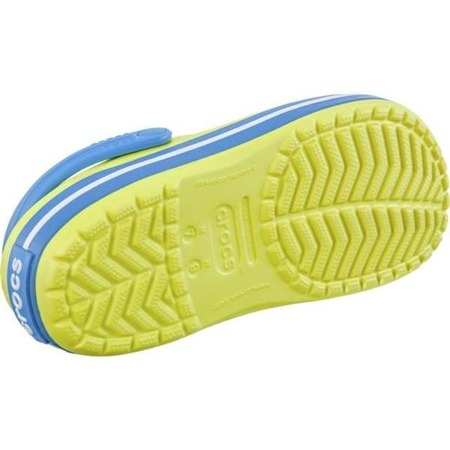 Crocs CROCBAND TENNIS BALL GREEN OCEAN