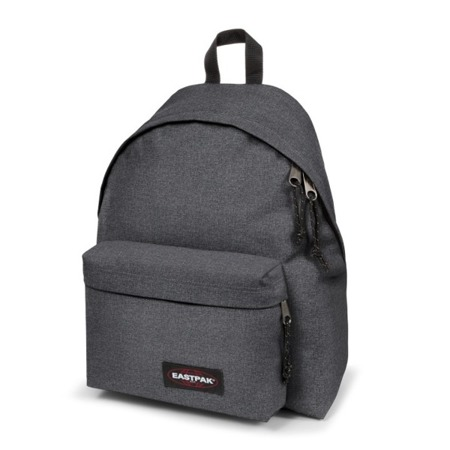 Eastpak Padded Pak'r Black Denim Rucksack - EK62077H